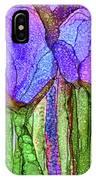 Tulip Bloomies 4 - Purple IPhone Case