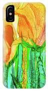 Tulip Bloomies 4 - Yellow IPhone Case