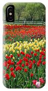 Tulip Fields IPhone Case