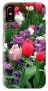 Tulip Garden IPhone Case