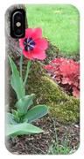 Tulip Poppie IPhone Case
