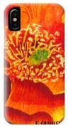 Tulip Prickly Pear IPhone Case