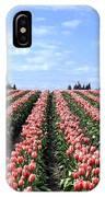 Tulip Town 12 IPhone Case
