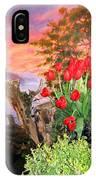 Tulip Town 19 IPhone Case