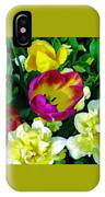 Tulips And Flowers  IPhone Case