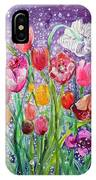 Tulips Are Magic In The Night IPhone Case