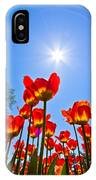 Tulips At Ottawa Tulips Festival IPhone Case