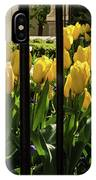 Tulips Behind Bars IPhone Case