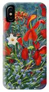 Tulips By The Gate IPhone Case