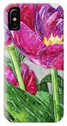 Tulips From A Friend IPhone Case