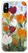 Tulips Garden IPhone Case