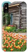 Tulips Lead To The Cabin IPhone Case