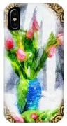 Tulips On A Half Shelf IPhone Case