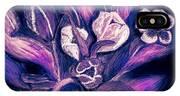 Tulips On Black IPhone Case