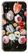Tulips Roses Peonies IPhone Case
