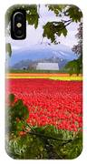 Tulips Secret Window IPhone Case
