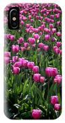 Purple Tulips IPhone X Case