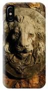 Tulsa Rose Garden Lion Fountain #1 IPhone Case