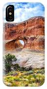 Tunnel Arch Trail View IPhone Case