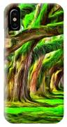 Tunnel Tree IPhone Case