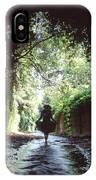 Tunnel Walk IPhone Case