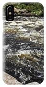 Turbulent Dalles Rapids IPhone Case