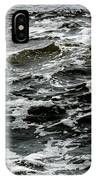 Turbulent Water Near The Shore IPhone Case