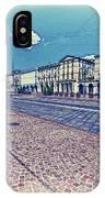 Turin, Square Vittorio. IPhone Case