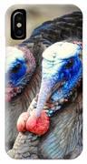 Turkey Prowl Closeup IPhone Case
