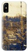 Turn Of The Century Dyckman Street Panorama IPhone Case