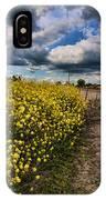 Turnip Field IPhone Case