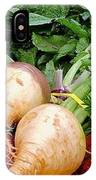 Turnips And Carrots IPhone Case