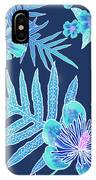 Turquoise Batik - Laua'e 12 IPhone Case