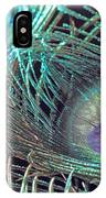 Turquoise Feather IPhone Case