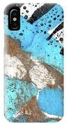 Turquoise Gold Pond 2 IPhone Case