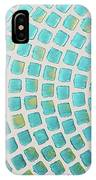 turquoise meets green P2 IPhone Case