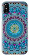 Turquoise Necklace Mandala IPhone Case