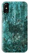 Turquoise Texture IPhone Case