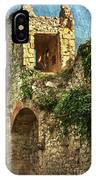Turret At Wallingford Castle IPhone Case