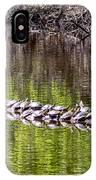 Turtle Log IPhone Case
