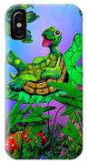 Turtle Trampoline IPhone Case