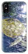 Turtle Water Glide IPhone Case