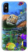 Turtles Of The Deep IPhone Case