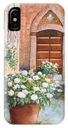 Tuscan Courtyard IPhone Case