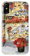 Tuscan Courtyard I IPhone Case