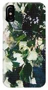 Tuscan Grapes Photograph IPhone Case