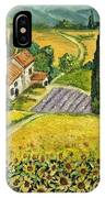 Tuscan Italy IPhone Case