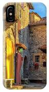 Tuscan Villa Early Morning IPhone Case