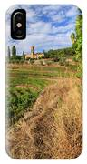 Tuscan Vineyard And Grapes IPhone Case