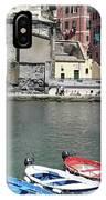 Tuscany Boats IPhone Case